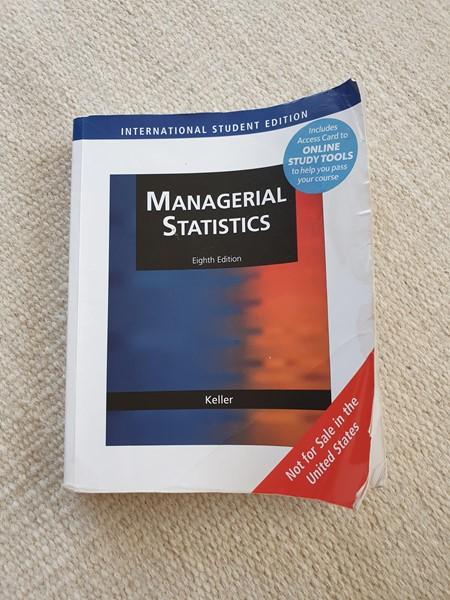 Picture of Managerial statistics af Keller 2009 , HA Almen