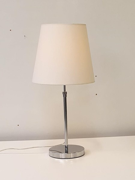 Picture of Bordlampe i krom.