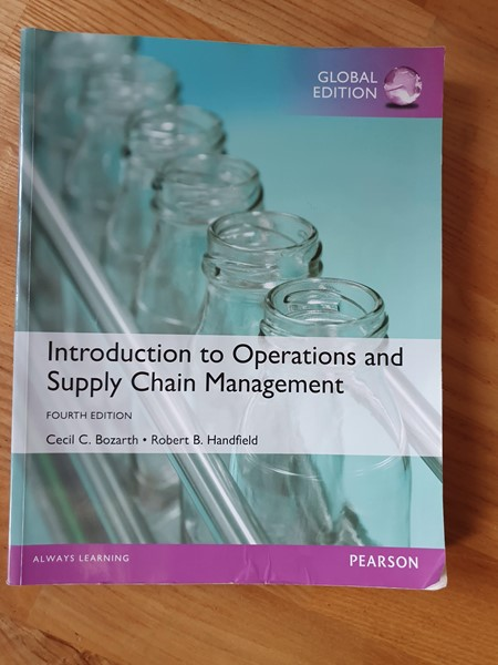 Picture of Introduction to operations, 2016, Bozarth et al
