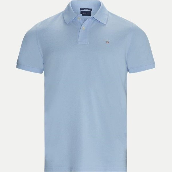 Picture of Gant Polo T-shirt i lyseblå
