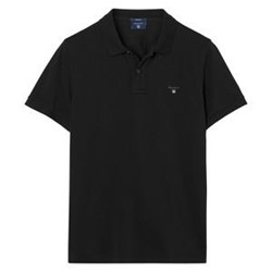 Picture of Gant Polo T-shirt i sort